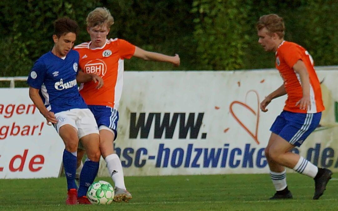 U19 mit guter Leistung – 0:2 gegen Schalke